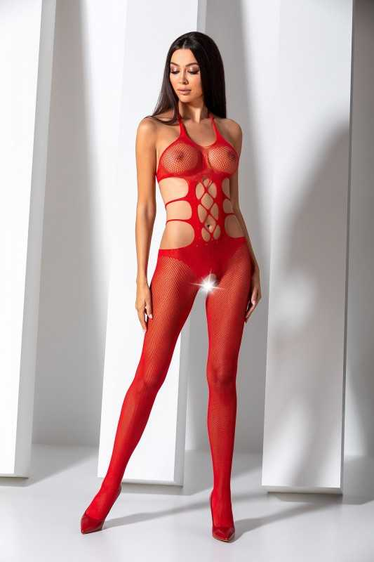 BS084R Bodystocking - Rouge