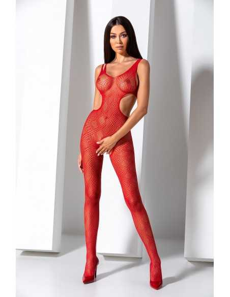 BS085R Bodystocking - Rouge