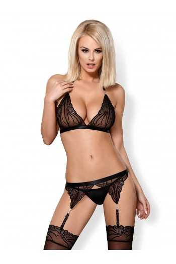 828-SEG-1 Ensemble 3 pcs - Noir